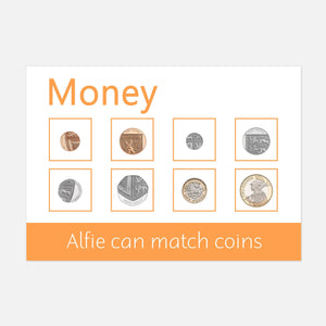 money learning mat | resources for toddlers and pre-schoolers