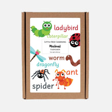 READY-TO-POST 2 Pack Minibeast Hunt Mat (Wipe Clean) & Flashcards  <br /> <br />Colour: Taupe