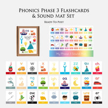 Phonic Phase 3 Sound Mat and Flashcards | Learning Resources for Pre-School & KS1 by Little Boo Learning