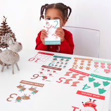 Christmas Numbers 1-10 Flashcards