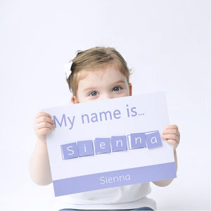 Personalised 'My Name is...' Spelling Mat