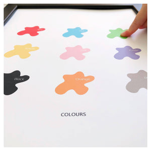 'Colours' Print (A4 or A5) - Learning resources for toddlers and pre-school children