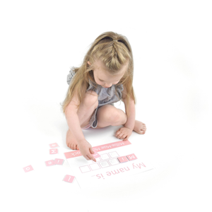 Personalised 'My Name is...' Spelling Mat - Learning resources for toddlers and pre-school children