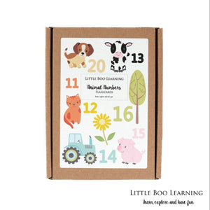 numbers 11-20 flashcards for toddlers and preschoolers | little boo learning