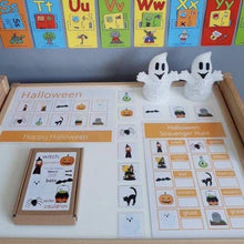 Halloween Matching Learning Mat - STAGE 2 | Digital Download