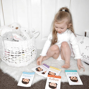 Emotions Flashcards - Learning resources for toddlers and pre-school children