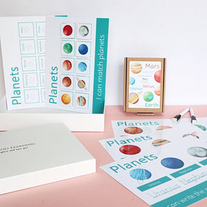 LIMITED EDITION LBL Topic Box: Planets (Turquoise)