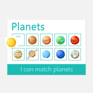 Planets | Little Boo Learning Topic Box | Learning Resources for toddlers and pre-schoolers