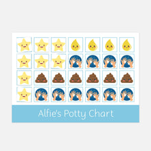 Potty Training Reward Chart by Little Boo Learning