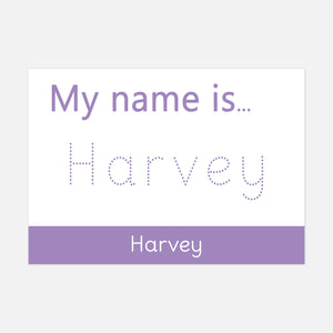 My name is... | I can write my name | Wipe Clean Learning Resources by Little Boo Learning
