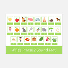 Phonics Phase 2 Sound Mat by Little Boo Learning