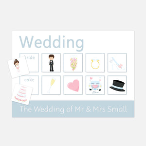 Personalised Wedding Learning Mat - Learning resources for toddlers and pre-school children