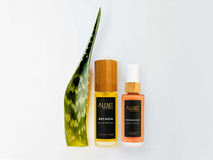 skincare products with aloe