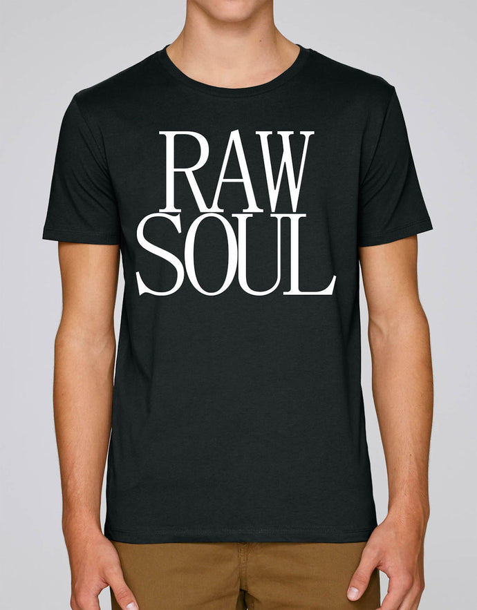 RAW SOUL Unisex T-Shirt Black