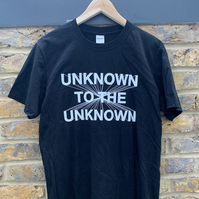 Unknown To The Unknown Classic Logo Tee
