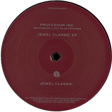 Professor Inc Feat Lady Blacktronika - Jewel Classic (PHONOGRAMME7)