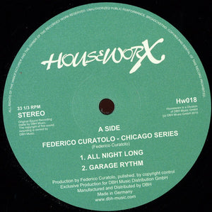 Federico Curatolo - Chicago Series (HW018)