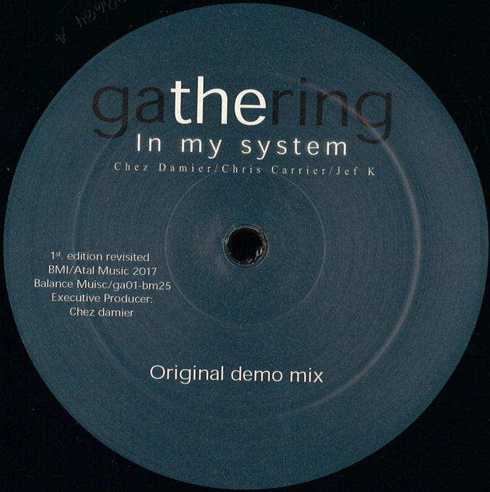 Gathering - In My System (GA01)