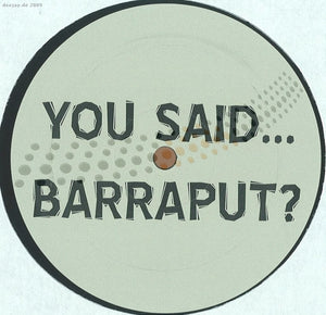 Barraput - Josh One Dai Remix (BARRAPUT01)