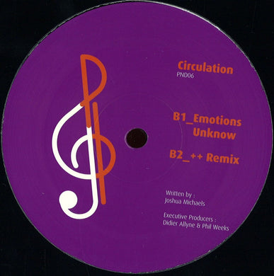 Circulation - Patterins/emotions Unknow (PND06)