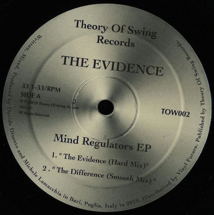 The Evidence- Mind Regulators (TOW002)