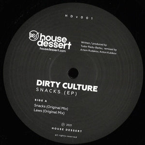 Dirty Culture - Snacks (HDV001)