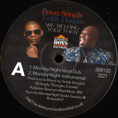 Byron Stingily, Teddy Douglas - We Belong Together (BBR100)
