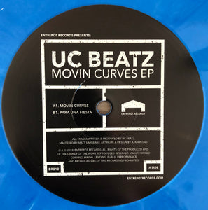 UC Beatz - Movin Curves EP (ER010)