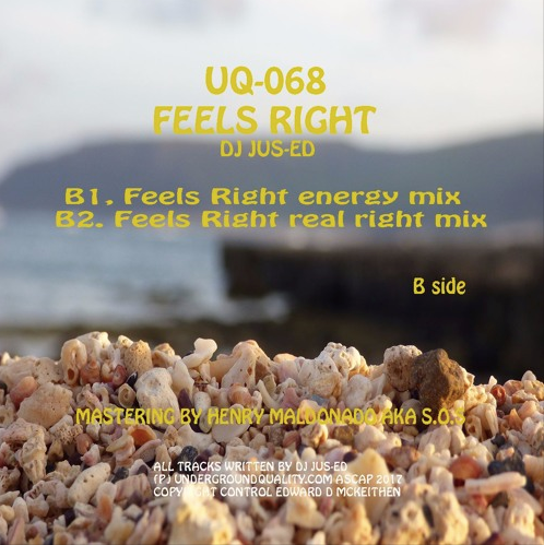 Jus-Ed - Feels Right ( UQ68 )