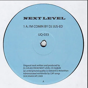 Jus-Ed - Next Level EP ( UQ33 )