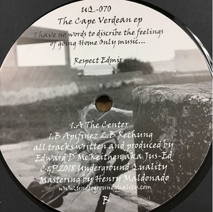 Jus-Ed - The Cape Verdean EP ( UQ70 )