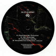 Various Artists (XDB, Eduardo De La Calle, Joey Anderson, Moody Waters) - all of an instant (rs029)