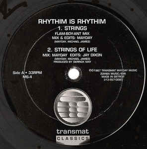 Rhythim Is Rhythim ‎– Strings Of Life