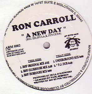 Ron Carroll ‎– A New Day (ARM0002)