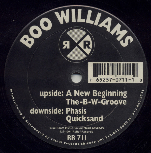Boo Williams - A New Beginning (RR711)