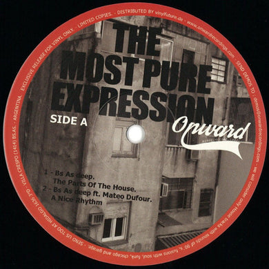 Bs As Deep, Mateo Dufour ‎– The Most Pure Expression (OWRV005)