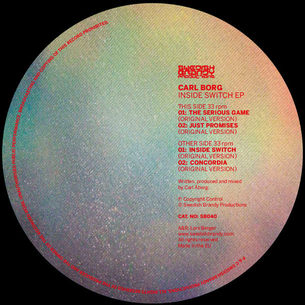 Carl Borg - Inside Switch (SB040)