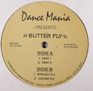 Parris Mitchell ‎– Butter Fly