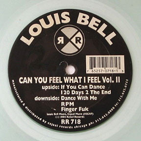 Louis Bell ‎- Can You Feel What I Feel Vol. II (RR718)