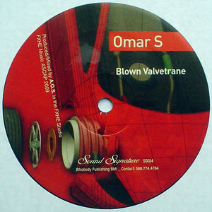 Omar S ‎– Blown Valvetrane