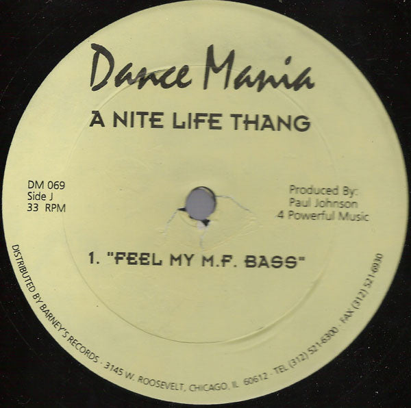 Paul Johnson ‎– A Nite Life Thang