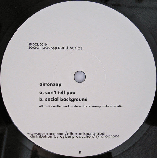 Anton Zap - Social Background Series 1 (ES002)