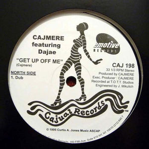Cajmere Featuring Dajae* / Jazzy ‎– Get Up Off Me Lonely (Dub) / (Cajmere's Underground Goodie Mix) (CAJ198)
