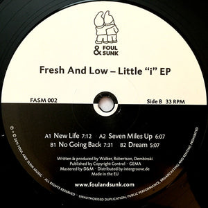 "Fresh And Low  ‎– Little ""i"" EP"