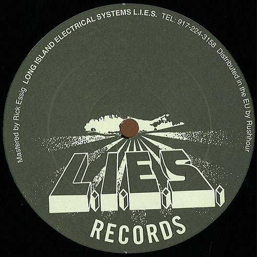 Delroy Edwards ‎– 4 Club Use Only (LIES015)