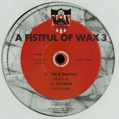 Various ‎– A Fistful Of Wax 3 (AFX003)