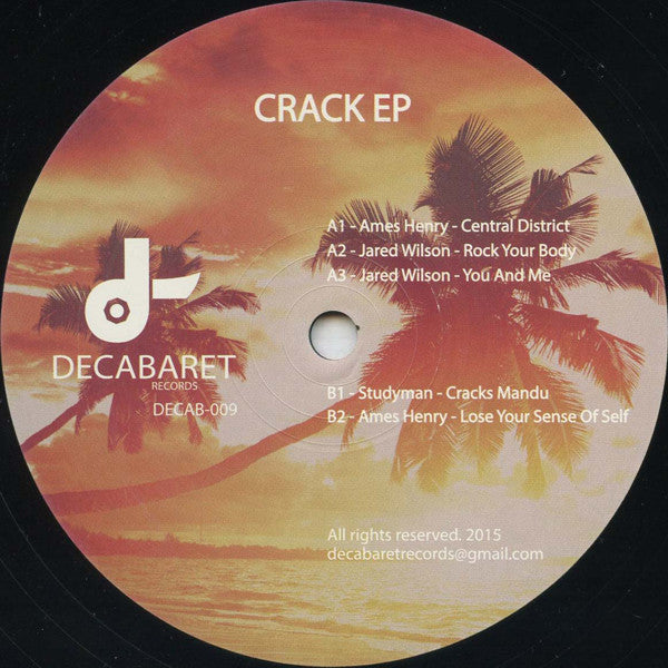 Various ‎– Crack EP