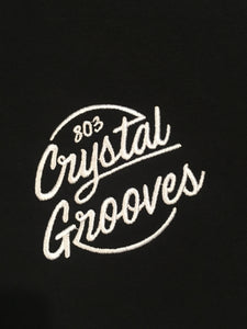 803 Crystal Grooves Sweater black