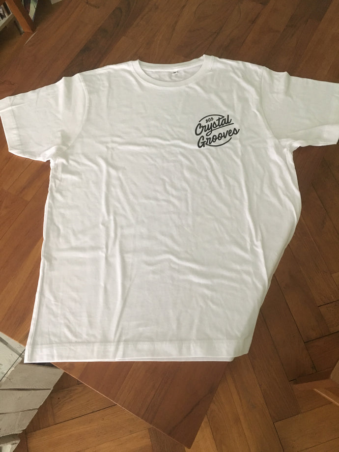 803 Crystal Grooves T-Shirt (White)