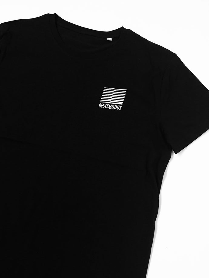 Beste Modus Small Embroidered Logo Shirt (Black)